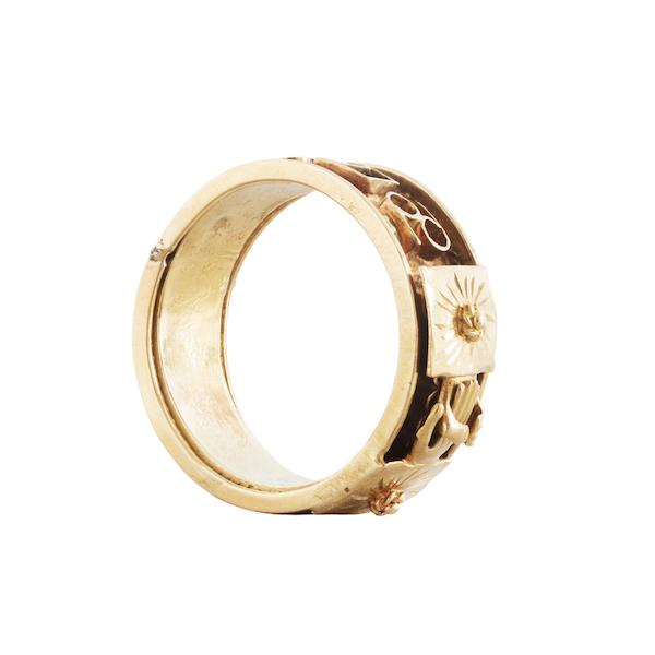 An Antique Masonic ring - image 2