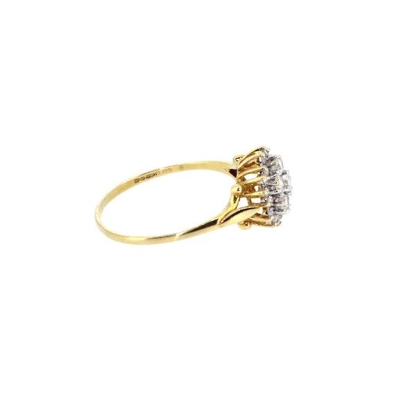 Diamond Cluster Ring. S.Greenstein - image 4