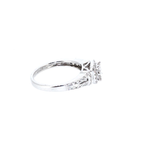 Square Shaped Cluster Ring. S. Greenstein - image 4