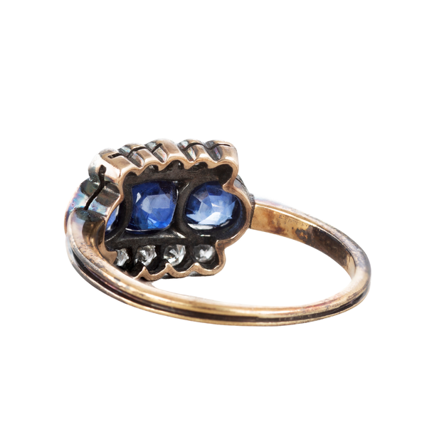 A Sapphire and Diamond ring - image 2