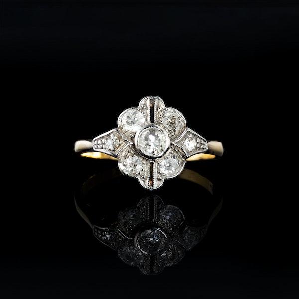 A Victorian Diamond ring - image 1