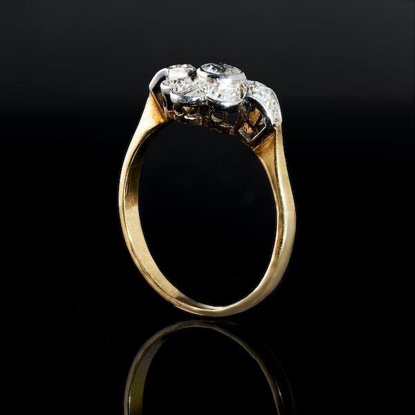 A Victorian Diamond ring - image 2