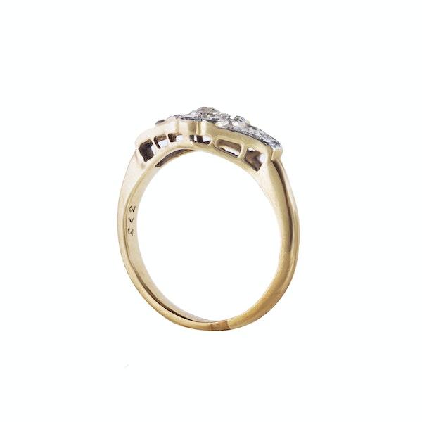 A Diamond Daisy ring - image 2