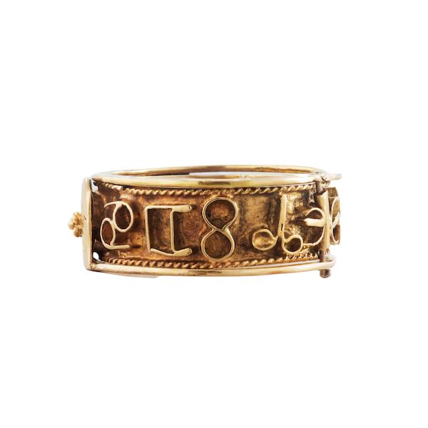 An Antique Masonic ring - image 3