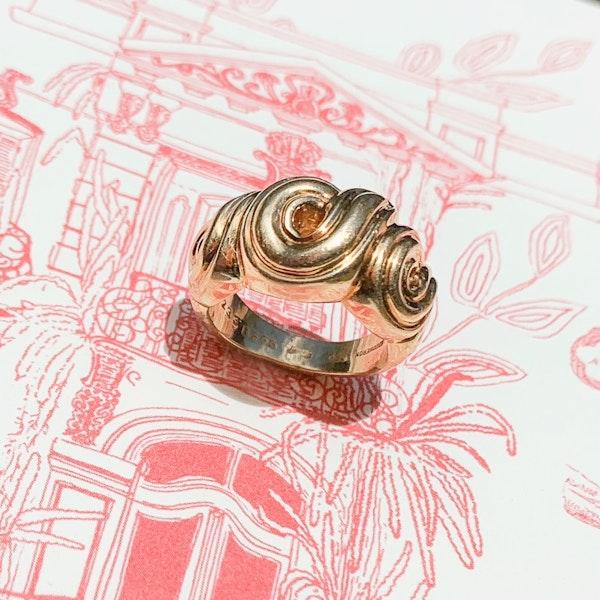 Vintage 18ct Gold Ring by Boucheron - image 3