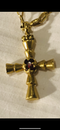 Byzantine gold cross chain - image 2