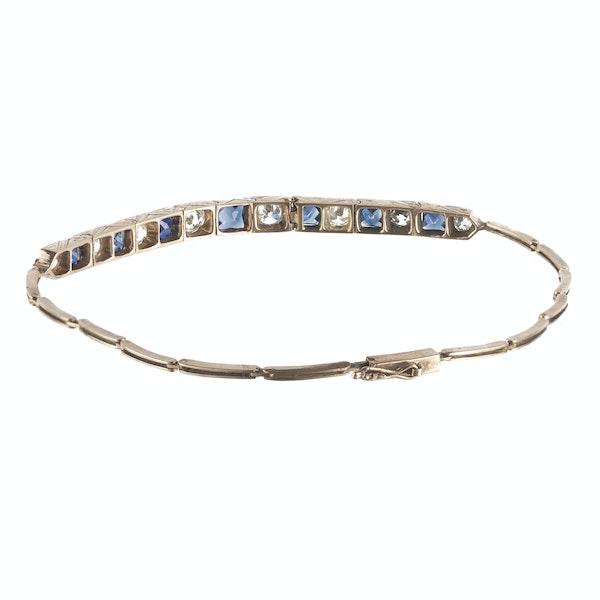 A Sapphire Diamond Bracelet - image 2