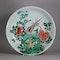 Chinese famille verte plate, Kangxi (1662-1722) - image 1