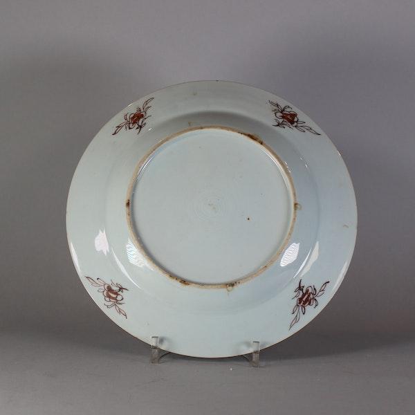 Chinese famille rose cockerel plate, Yongzheng (1723-35) - image 2
