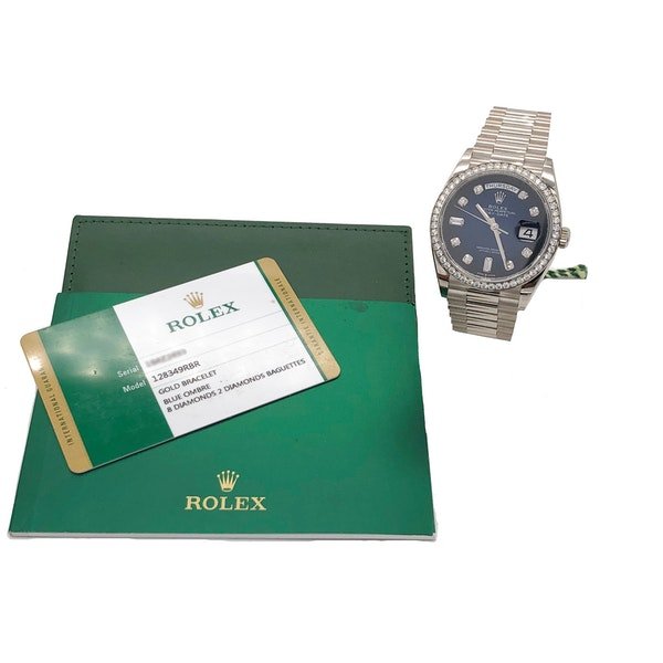 ROLEX DAY-DATE FACTORY 128349 RBR - image 6