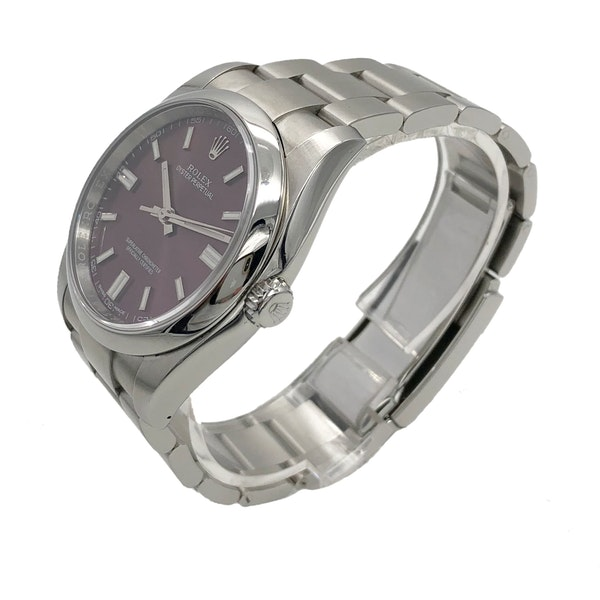 ROLEX OYSTER PERPETUAL RED GRAPE - image 2
