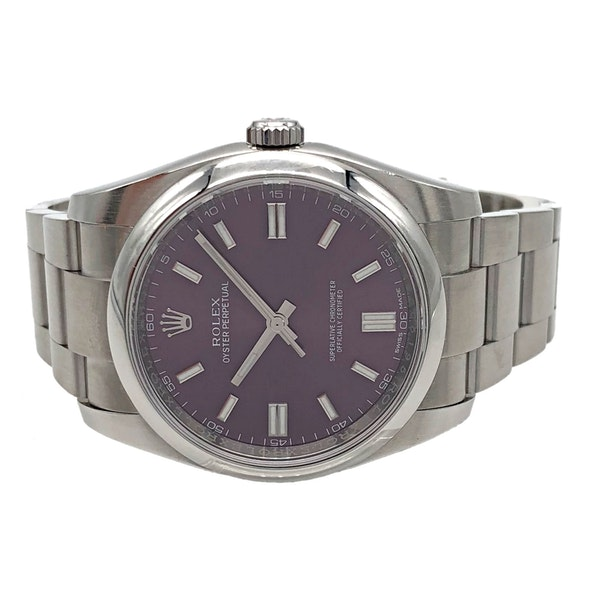 ROLEX OYSTER PERPETUAL RED GRAPE - image 4