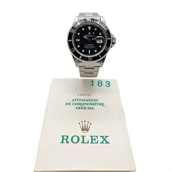 ROLEX SUBMARINER 16610 LN - image 6