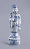 Chinese blue and white figure of Zhongli Quan, Ming (1368 – 1644), late 16th/early 17th century - image 1