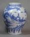 Frankfurt blue and white vase, 18th century - image 1