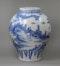 Frankfurt blue and white vase, 18th century - image 3