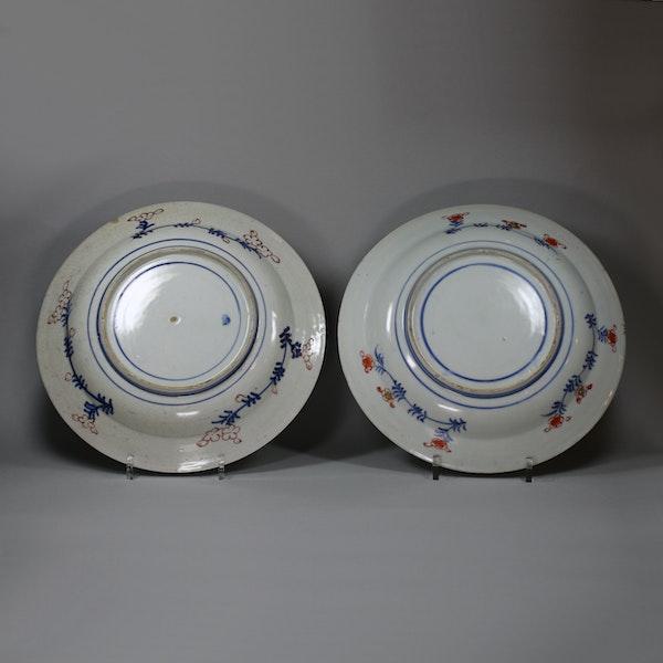 Pair of Japanese imari dishes, 18th century - image 2