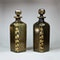 Pair of Bristol green glass decanters and stoppers, late 18th century - image 2