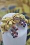 A very fine Ruby, Sapphire & Diamond Vine Brooch set in 18 carat White & Yellow Gold, Circa 1950 - image 1