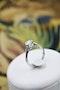 A very fine Asprey's Diamond Solitaire Ring set in 18ct White Gold, English, Circa 1980 - image 2