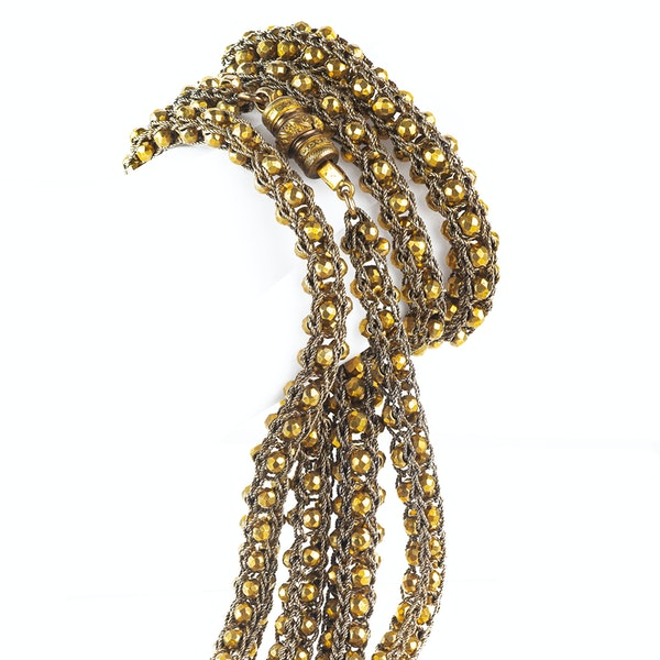 A Pinchbeck Rope Bauble Chain - image 3