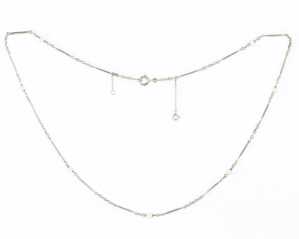 A French Gold and Pearl Chain - image 1