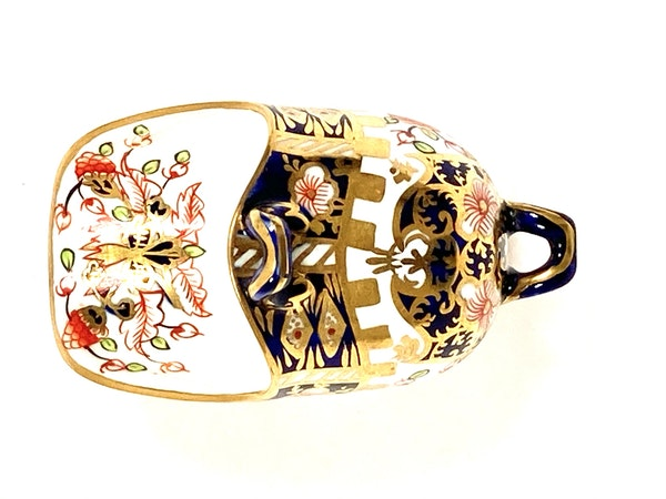 Royal Crown Derby miniature coal scuttle - image 3