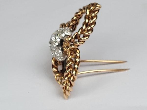 Pierre Sterle diamond clip sku 4872  DBGEMS - image 3