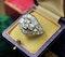 A very fine Art Deco Diamond Demi-Bombé Ring mounted in Platinum, French, Circa 1930 - image 4