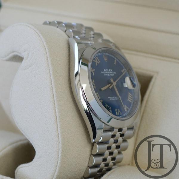 Rolex Datejust 41 126300 Azzurro Blue Dial Jubilee - image 4