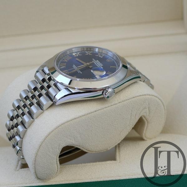 Rolex Datejust 41 126300 Azzurro Blue Dial Jubilee - image 5
