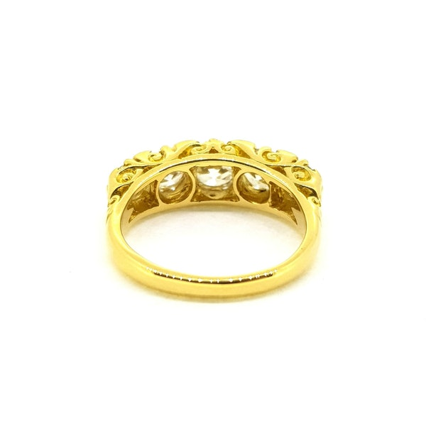 Antique Five Stone Ring - image 4