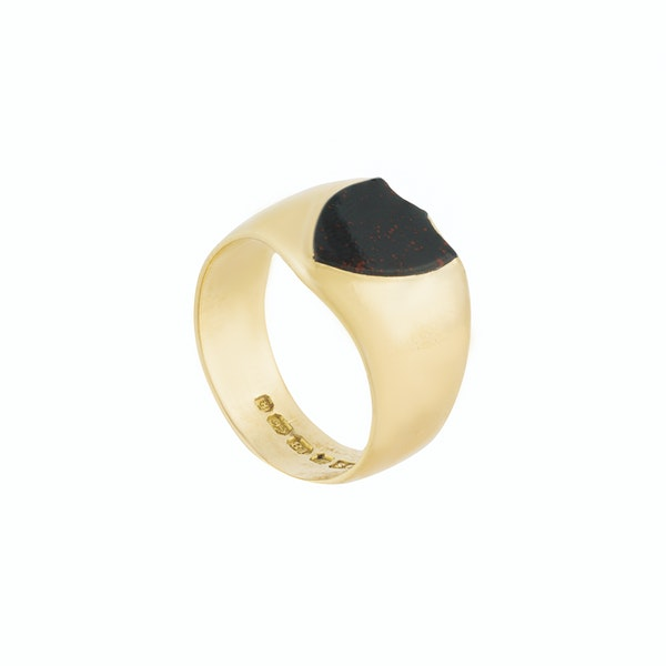 A Shield Signet Ring - image 2