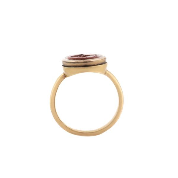 An Intaglio Signet Ring - image 2