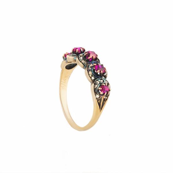 A Ruby Diamond ring - image 2