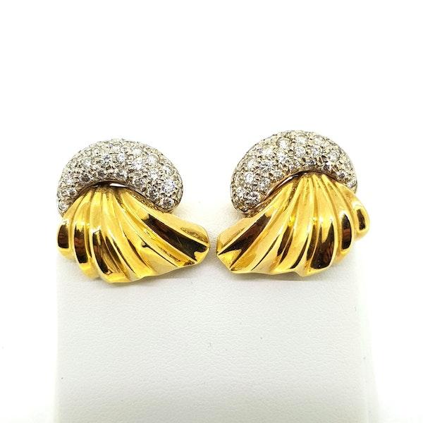 Antique 50 Earrings - image 3