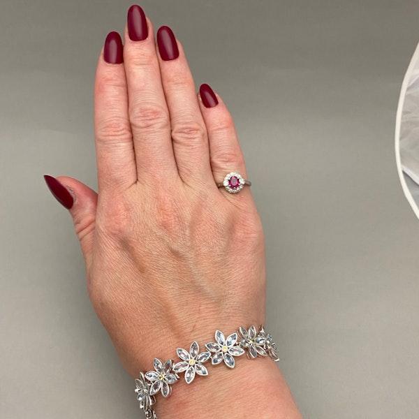 Burma Ruby Diamond Ring in Platinum date circa 1920 SHAPIRO & Co since1979 - image 11