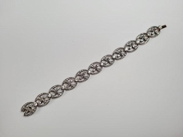 Antique diamond bracelet sku 4884 DBGEMS - image 2