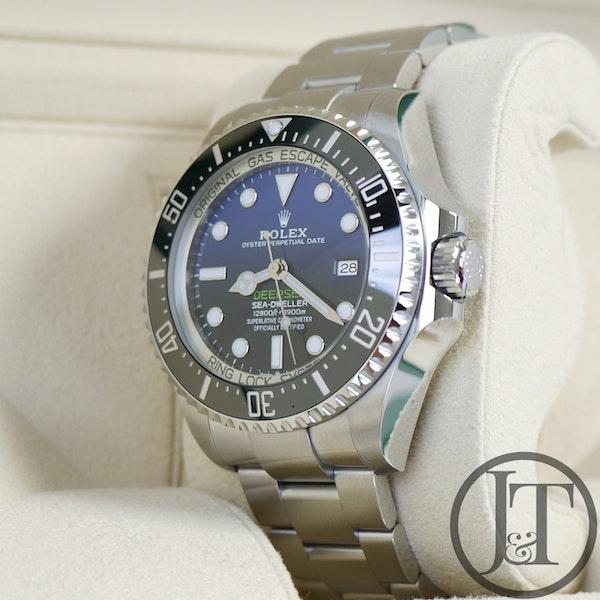 Rolex Deepsea Sea-Dweller 126660 James Cameron D-Blue Dial - image 3