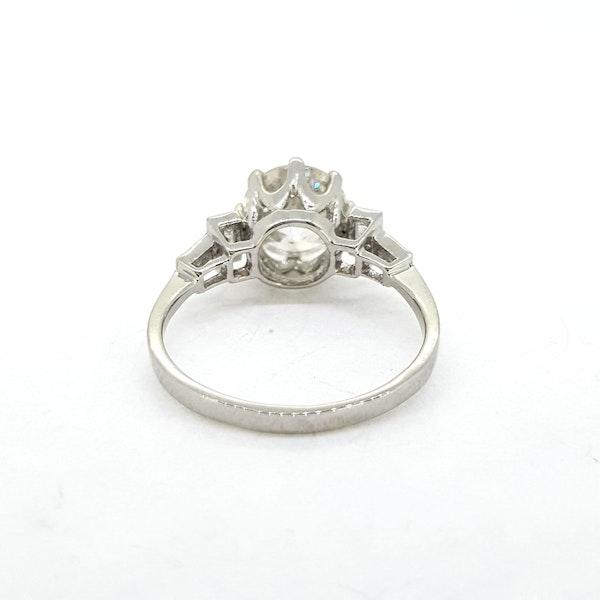 Old cut diamond rings 2.21ct - image 3