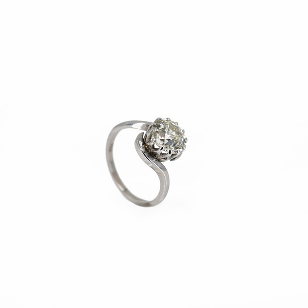 A Brilliant Cut Diamond Ring Offered by The Gilded Lily - image 2