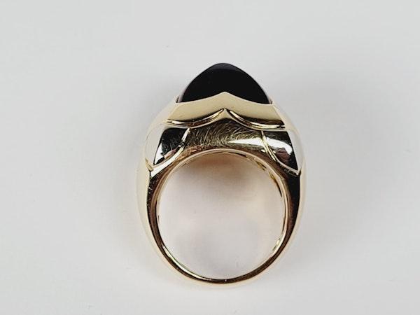 Bvlgari sugar loaf amethyst ring sku 4890 - image 3