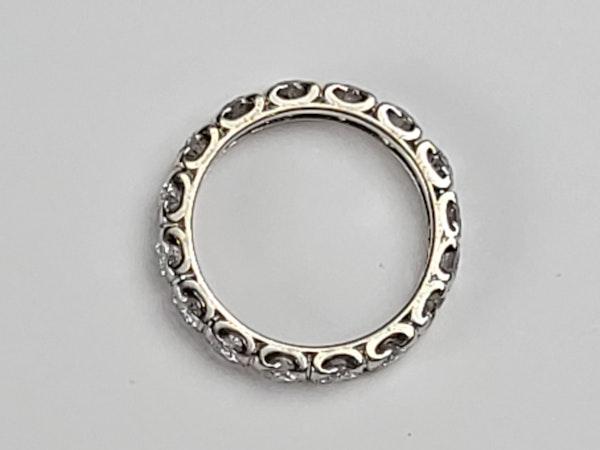 Art deco diamond eternity ring sku 4886  DBGEMS - image 2