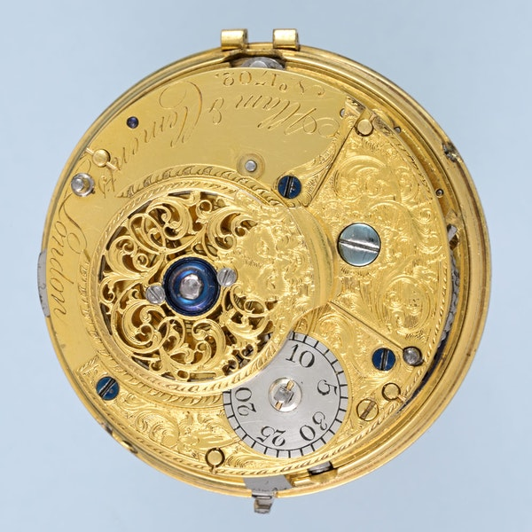 ENGLISH GOLD AND ENAMEL REPEATER - image 4