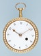 PEARL SET GOLD AND ENAMEL ENGLISH WATCH - image 2