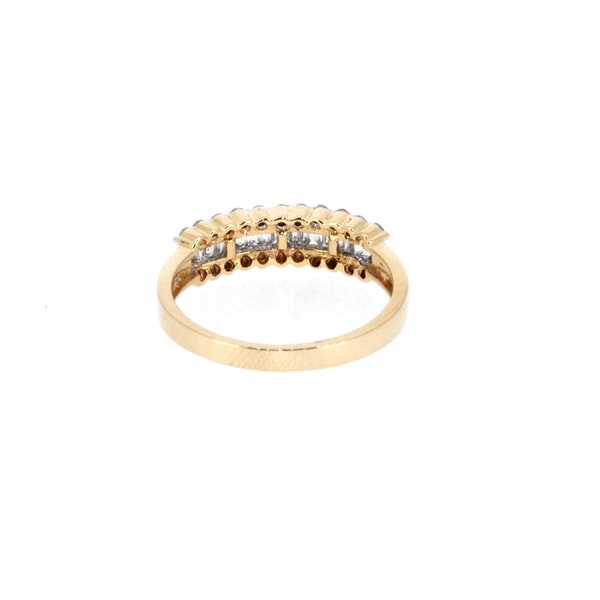 Fancy Baguette And Round Brilliant Diamond Ring.  S. Greenstein - image 3
