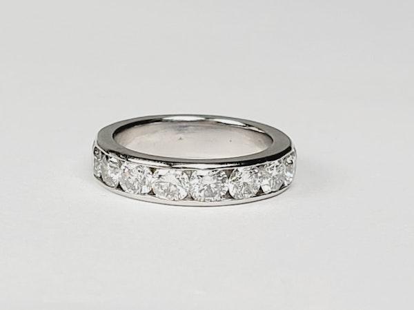 3.75ct diamond band sku 4906  DBGEMS - image 2