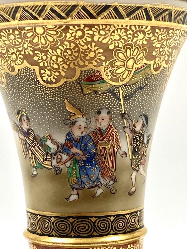 Kinkozan vase - image 5