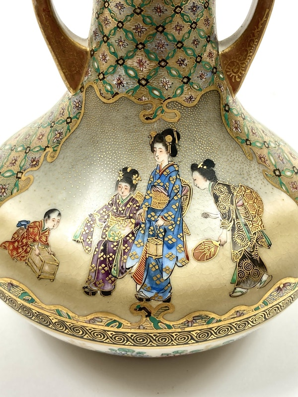 Kinkozan vase - image 6