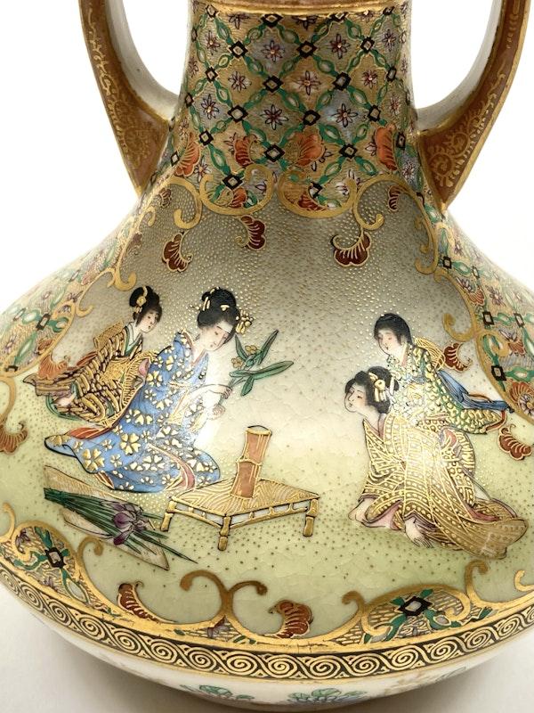 Kinkozan vase - image 7